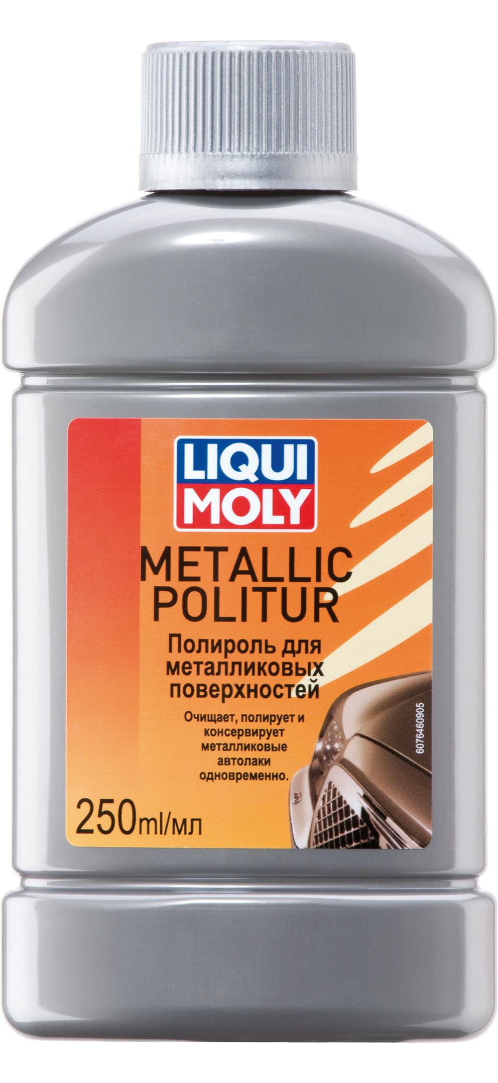 Полироль для металликовых поверхностей Metallic Politur