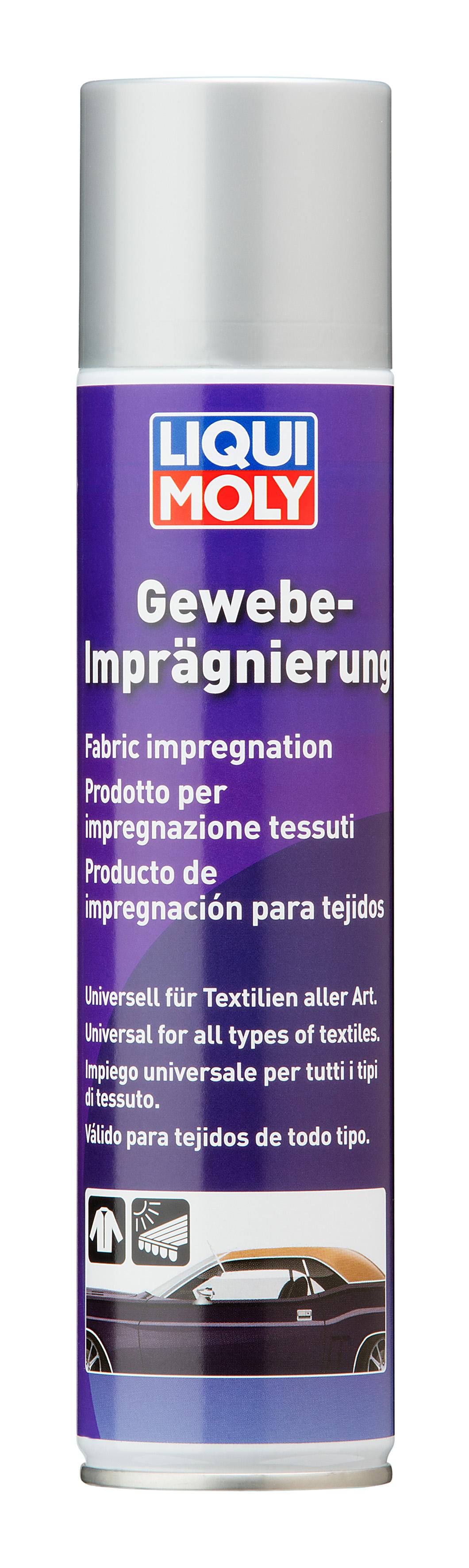 Гидрозащита кожи и текстиля Gewebe-Impragnierung