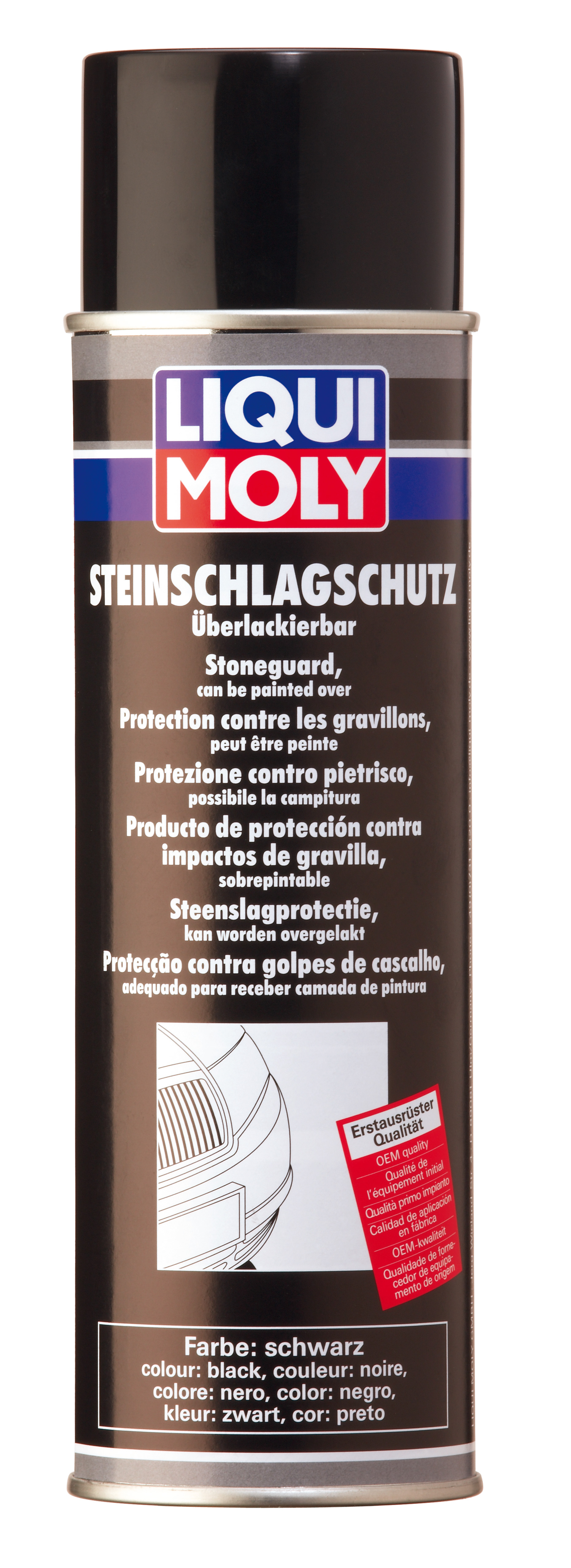Антигравий черный Steinschlag-Schutz schwarz