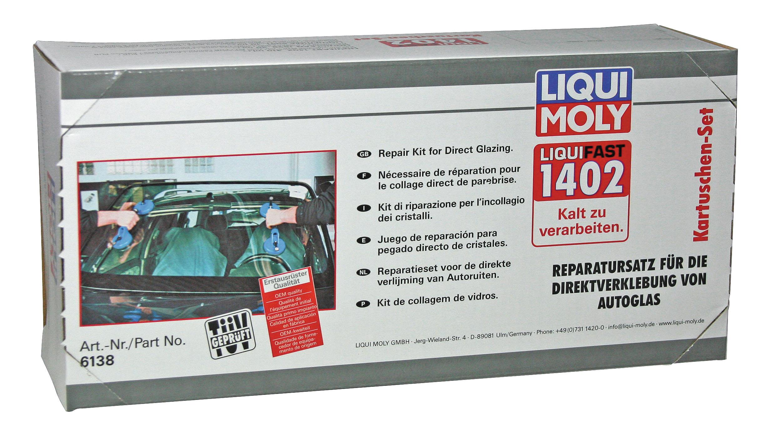 Набор для вклейки стекол (среднемодульный) Liquifast 1402