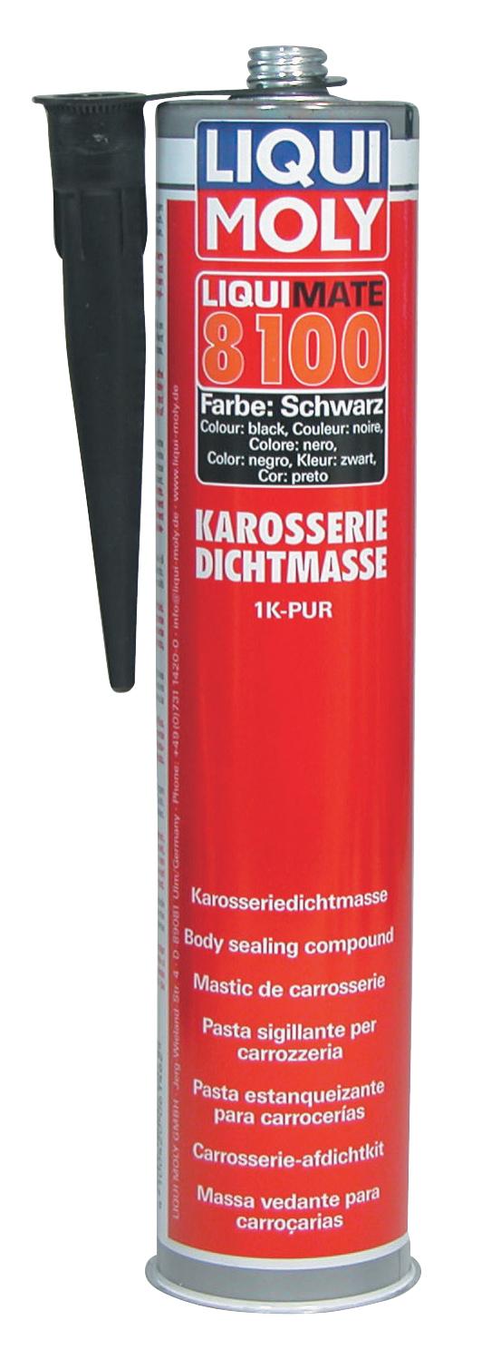 Клей-герметик (черный) Liquimate 8100 1K-PUR schwarz