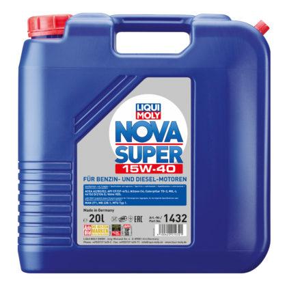 Минеральное моторное масло LIQUI MOLY Nova Super 15W-40