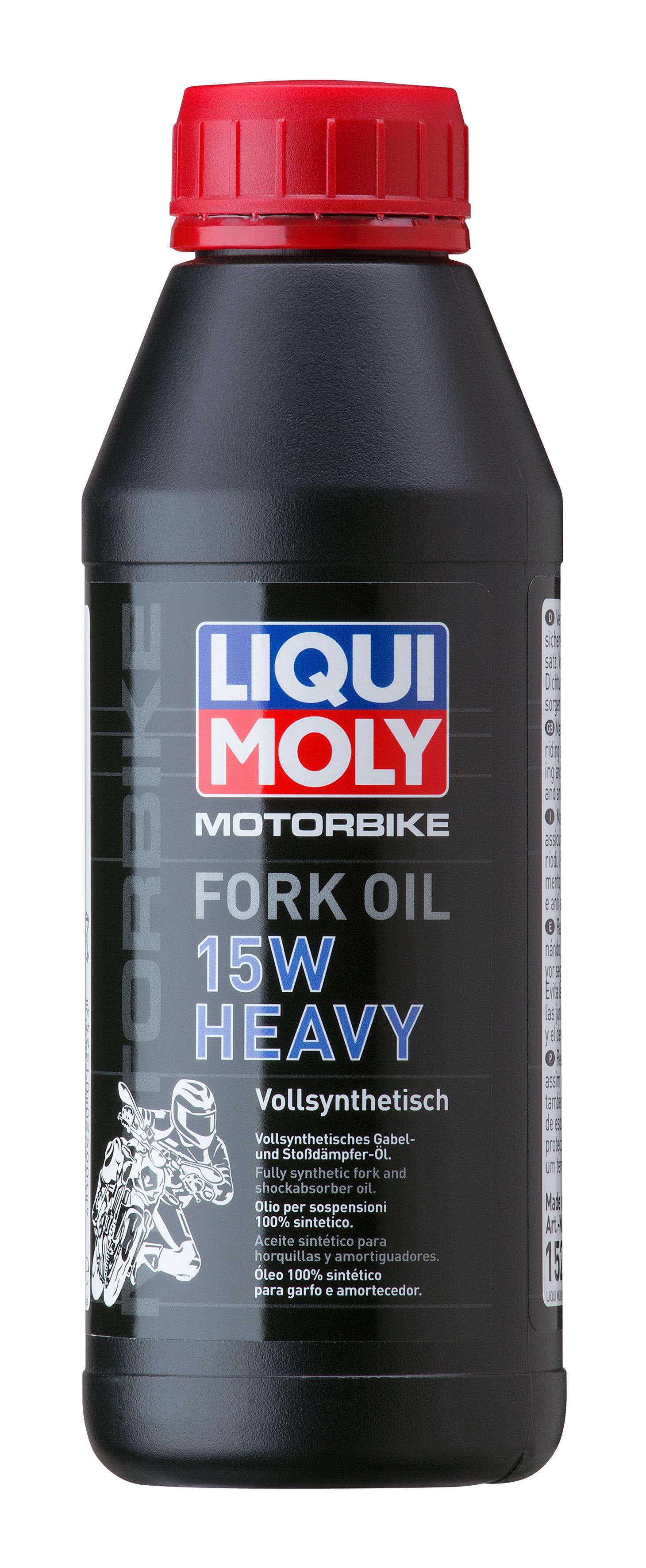 Синтетическое масло для вилок и амортизаторов Motorbike Fork Oil Heavy 15W