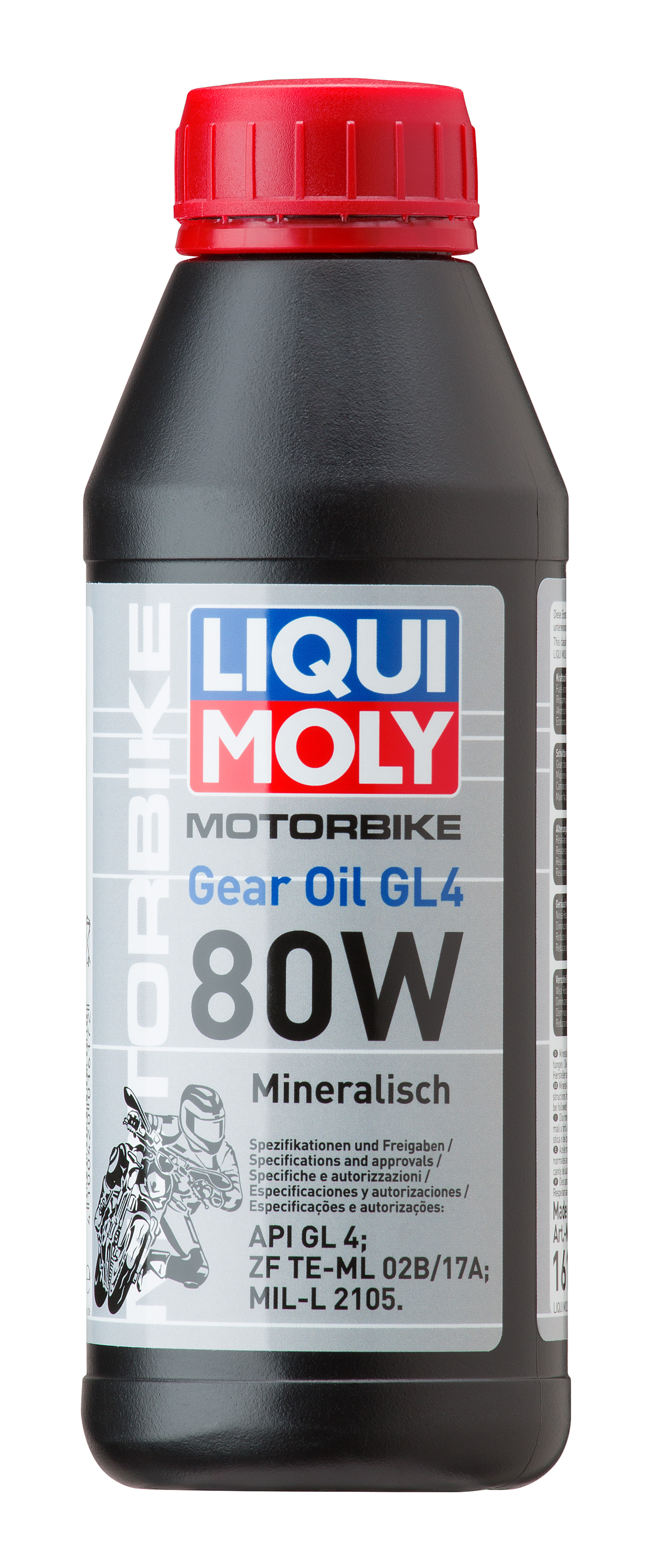 Минеральное трансмиссионное масло для мотоциклов Motorbike Gear Oil 80W