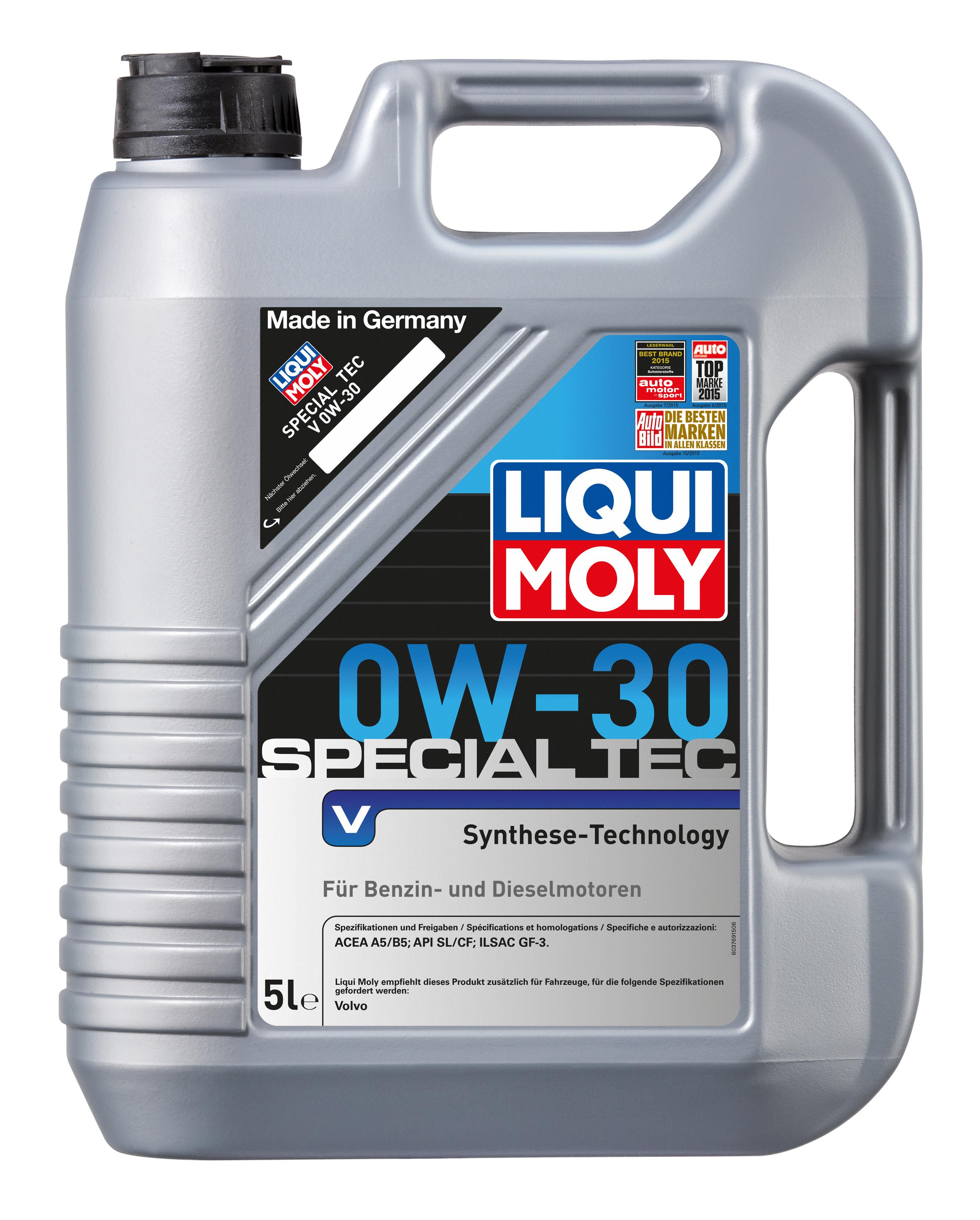 НС-синтетическое моторное масло Special Tec V 0W-30