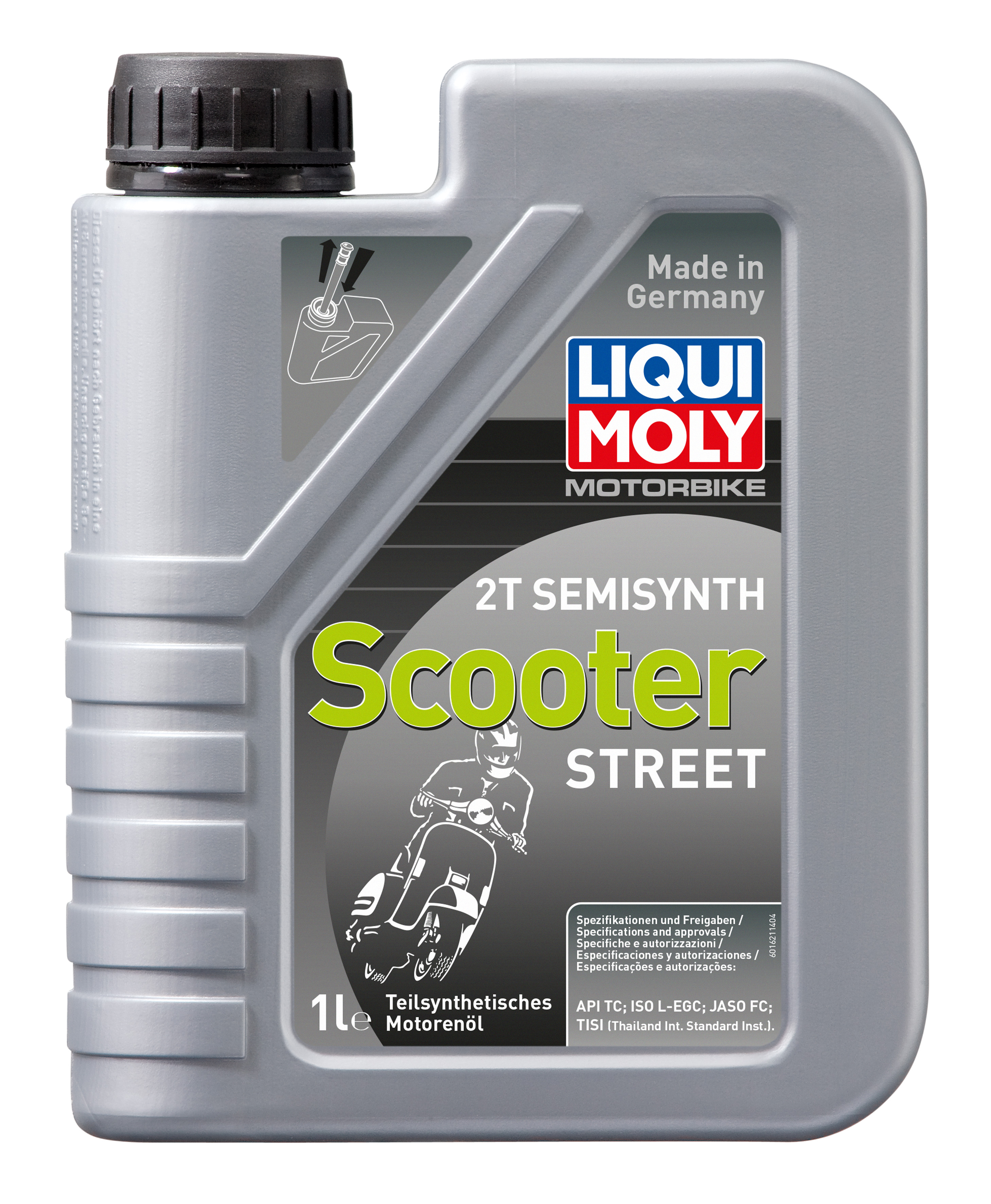 Полусинтетическое моторное масло для скутеров Motorbike 2T Semisynth Scooter