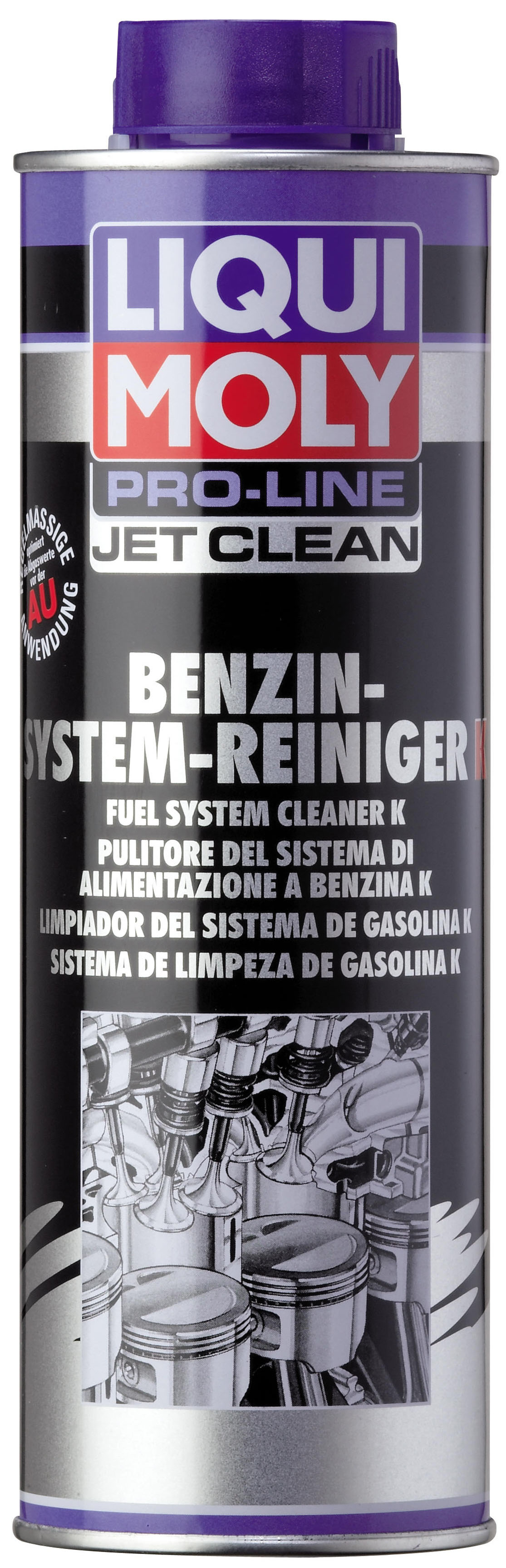 Жидкость для очистки бензиновых систем впрыска Pro-Line JetClean Benzin-System-Reiniger Konzentrat