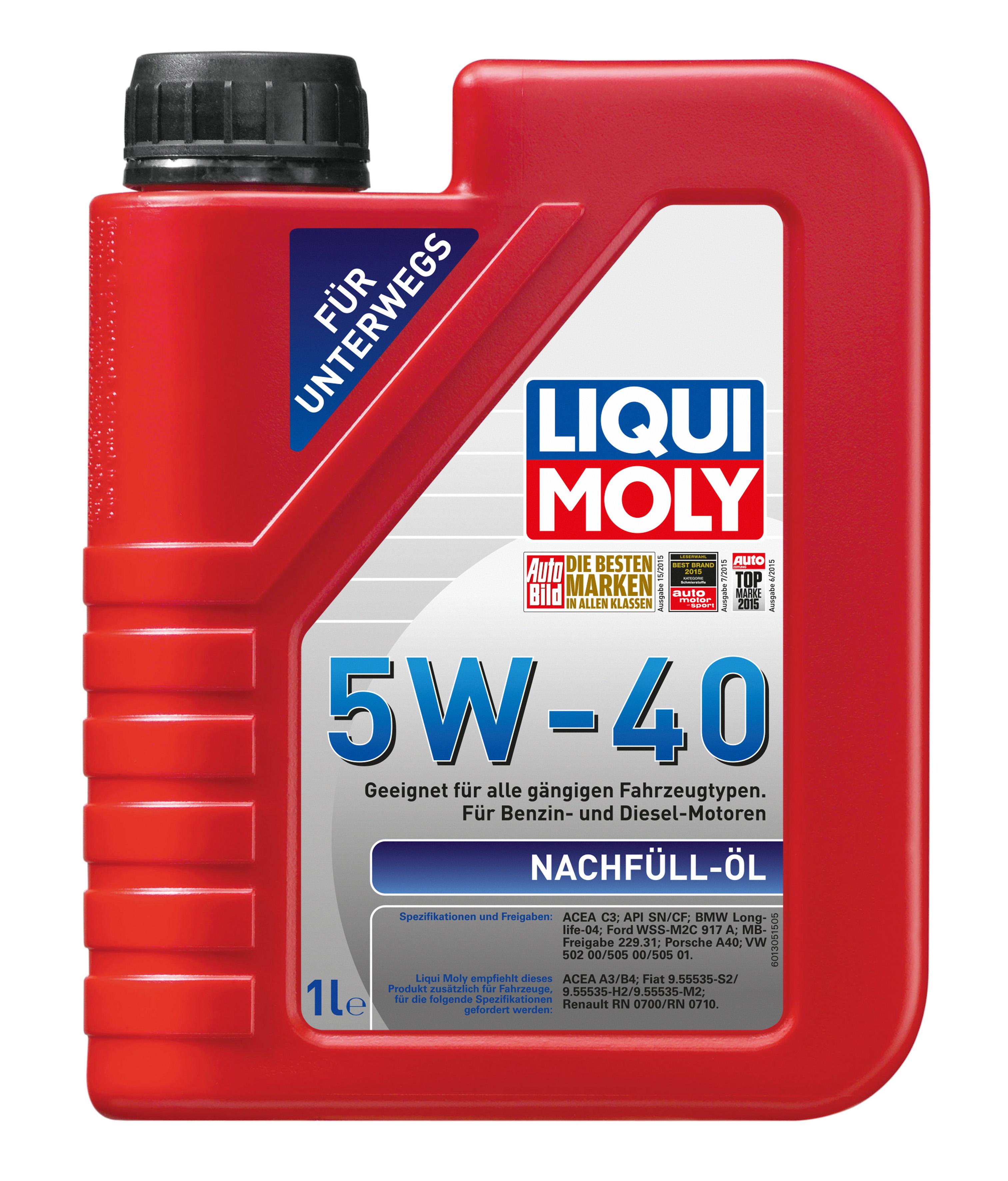 НС-синтетическое моторное масло Nachfull Oil 5W-40
