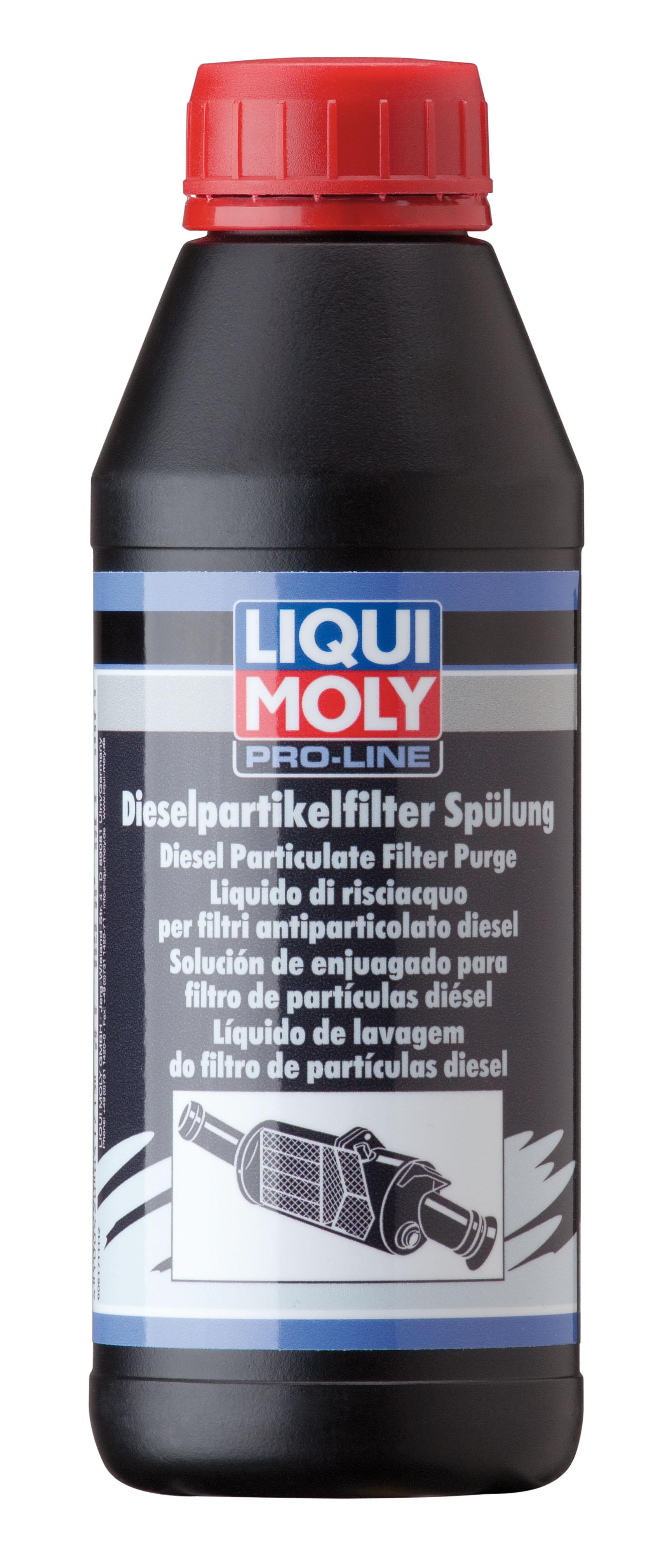 Очиститель дизельного сажевого фильтра для легковых автомобилей Pro-Line Diesel Partikelfilter Spulung