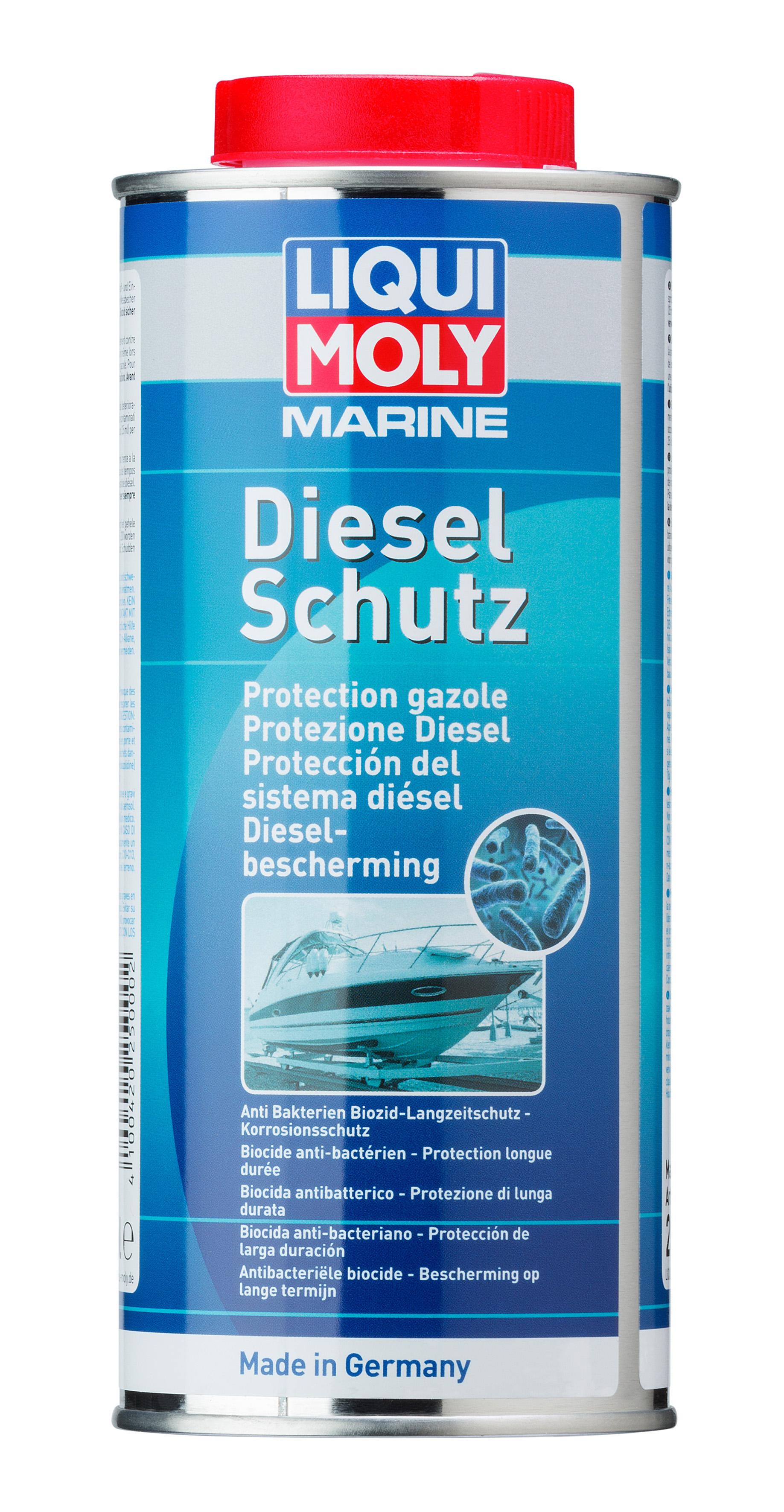 Присадка для защиты дизельных топливных систем водной техники Marine Diesel Protect