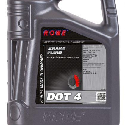 Тормозная жидкость Rowe HIGHTEC BRAKE FLUID DOT 4