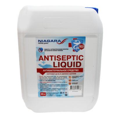 Антисептик «Antiseptic Liquid» 20 л. с крышкой