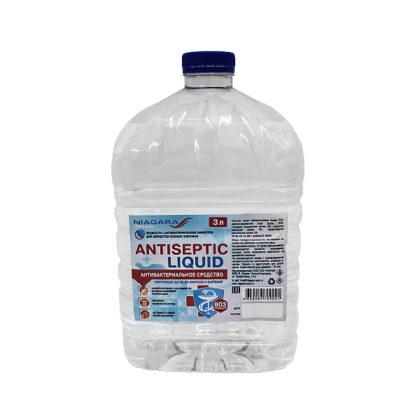 Антисептик «Antiseptic Liquid» 3 л. с крышкой